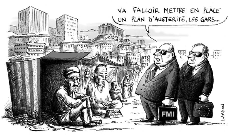 Austérité en Grèce : le bon plan des vautours !